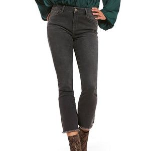 NWT Free People Cropped Straight Leg Jeans Sz 24